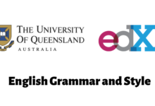 English Grammar and Style The University of Queensland