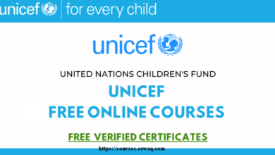 UNICEF Free Online Courses With Free Certificates