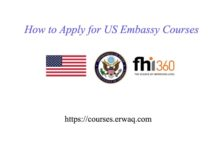 How to Apply for US EMBASSY COURSES