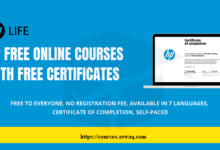 HP Free Online Courses (Free Certificates)