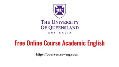 The University of Queensland's free online academic English course